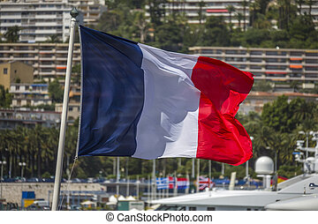 French Flag - Nice - South of France