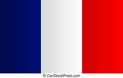 French flag vector. the national flag of France. French flag background