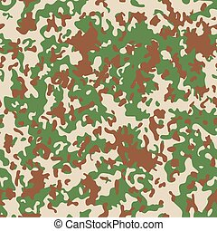 French Flectarn Camouflage seamless patterns