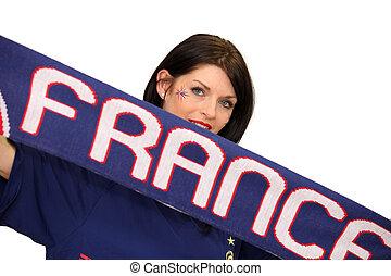 French football fan