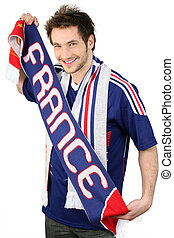 French football supporter