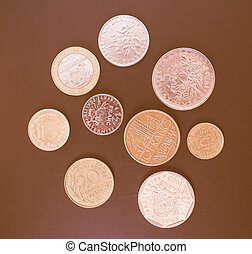 french franc, mynt, årgång