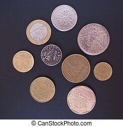 french franc, mynt
