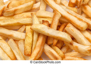 French fries closeup
