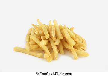 french fry isolated