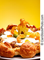 French Gastronomy - Gougère - International Cuisine - French...