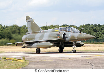 French jetfighter - French Air Force Mirage 2000 fighter jet