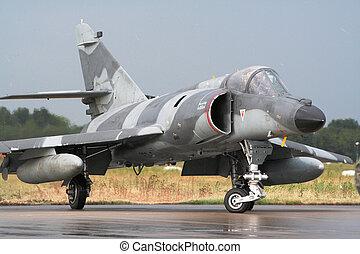 French Jetfighter - French Dassault Etendard jetfighter...