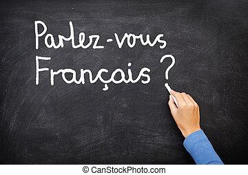 French Learning language - Learning language - French. ...