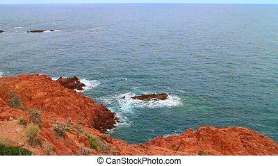 French Mediterranean coast