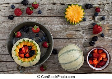French Melons And Berries