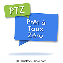 French PTZ initals in colored bubbles - French PTZ initals ...