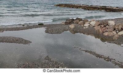 French riviera sea coast line - DSLR Full HD progressive...