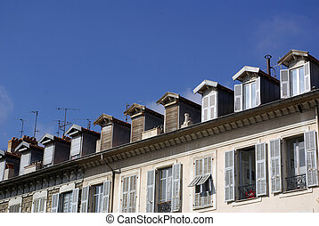 french roofs