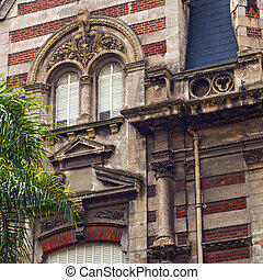 french style building in Buenos Aires, Argentina