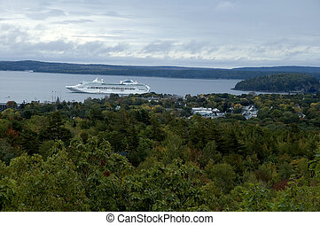 Frenchmans Bay from Acadia Nat. Park, ME