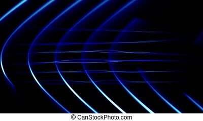 Frequency Abstract Loop Blue - HD