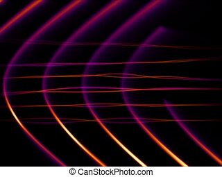 Frequency Abstract Loop Purp-Org_SD