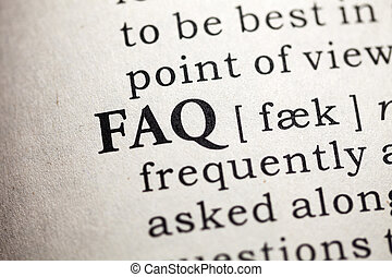 Frequently Asked Questions - Fake Dictionary, Dictionary...