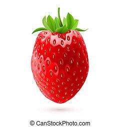 fresa, apetitoso