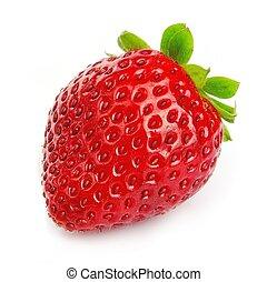 fresa, solo, maduro