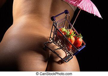 fresas, butt