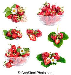 fresas, conjunto