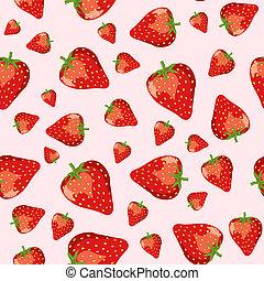 fresas, seamless