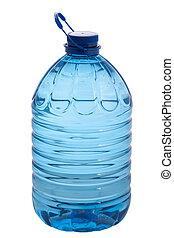 fresco, agua mineral, en, botella