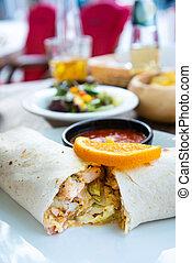 fresco, alimento mexicano, tabela