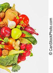 fresco, bio, vegetal