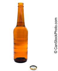 fresco, botella de cerveza