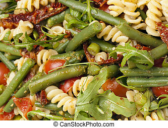 fresco, bowl., closeup, insalata
