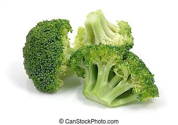 fresco, brócolos