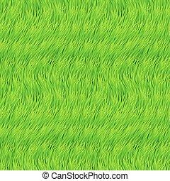 fresco, erba, seamless