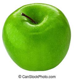 fresco, fabbro, mela, nonna