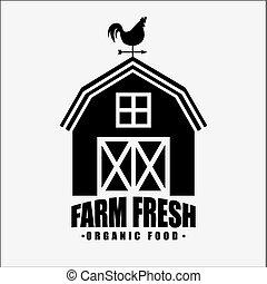 fresco, fazenda
