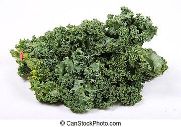 fresco, frondoso, kale