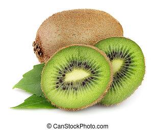 fresco, frutta kiwi