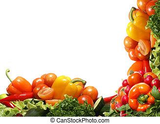 fresco, gostoso, legumes, fractal