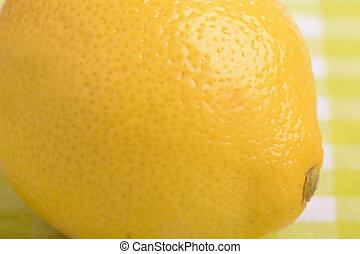 fresco, limón, cicatrizarse