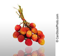 fresco, lychees