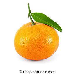 fresco, mandarina, jugoso