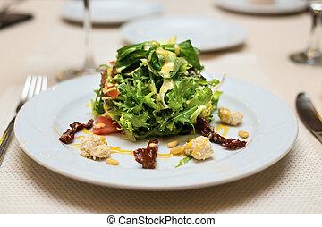 fresco, orgânica, salada