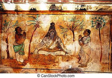 fresco, pinturas