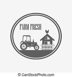fresco, produto fazenda