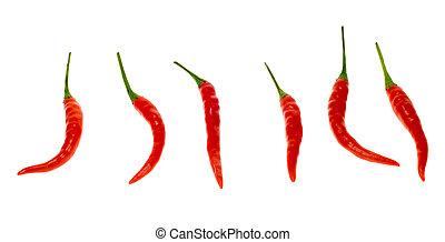 fresco, rosso, chili pepa