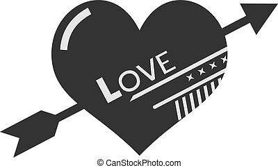 fresco, simbolo, amore