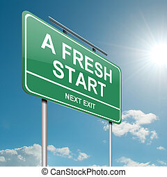 fresco, start.