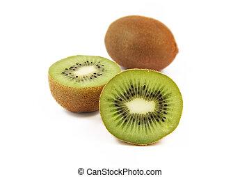 fresco, succoso, frutta kiwi